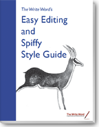 Editing Guide - Download Free PDF